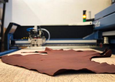 Découpe numérique du cuir