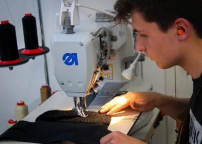 Couture machine guêtres