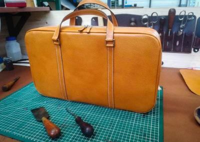 Maroquinerie sac en cuir