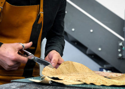 Découpe travail du cuir