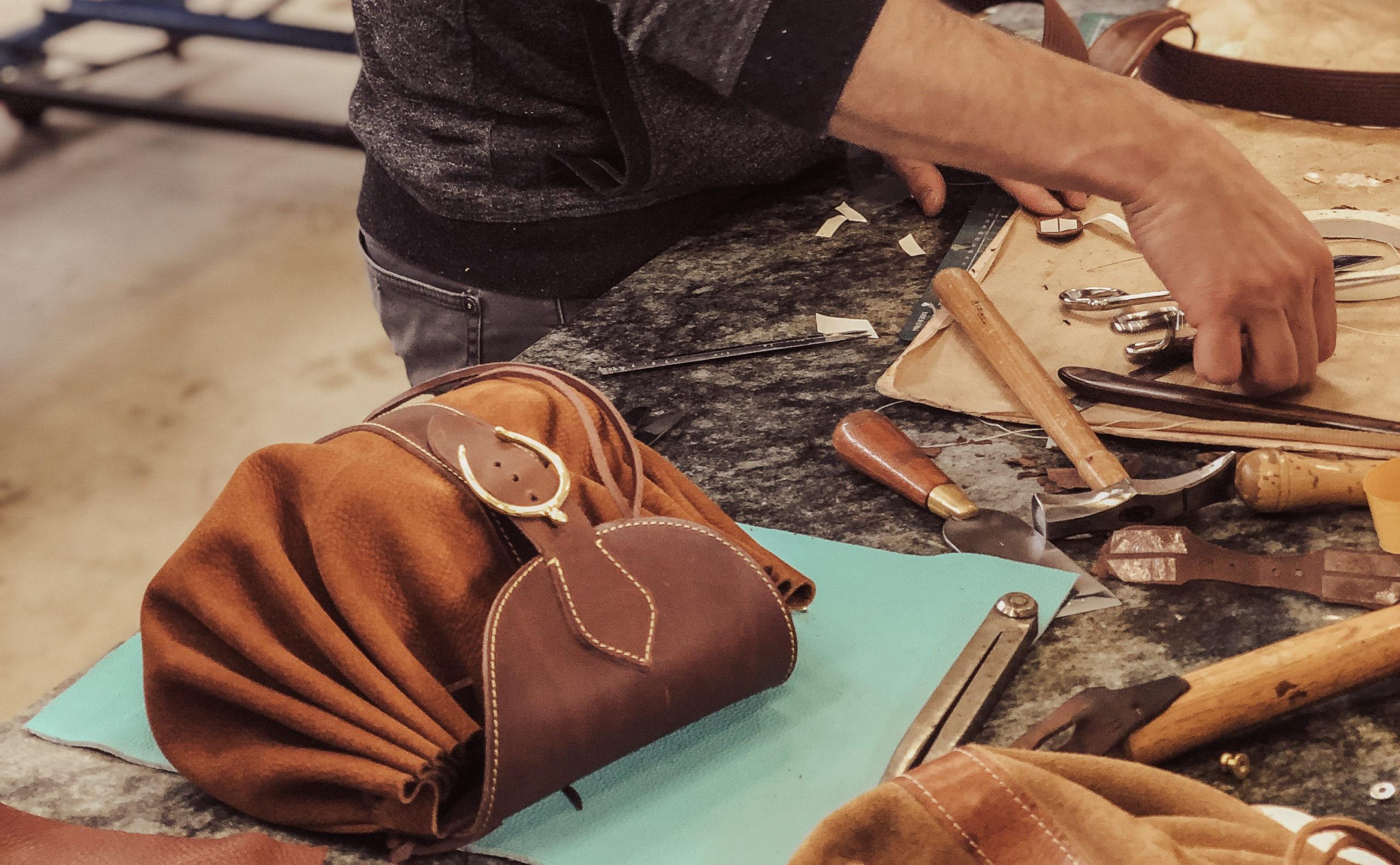 Maroquinerie artisanale de luxe