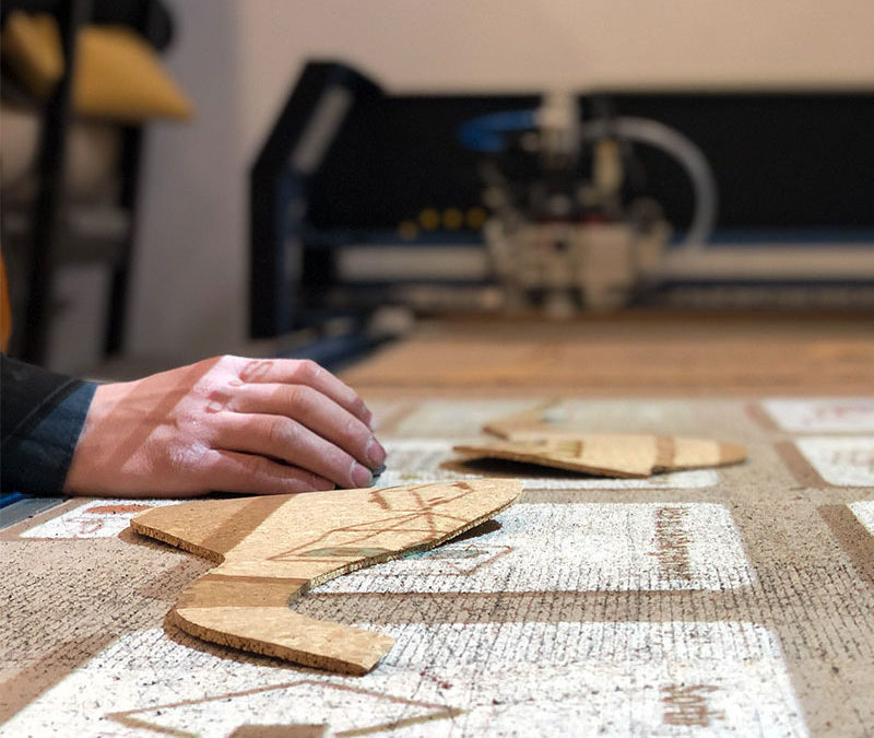 Un atelier en France pour la confection de vos produits en cuir !